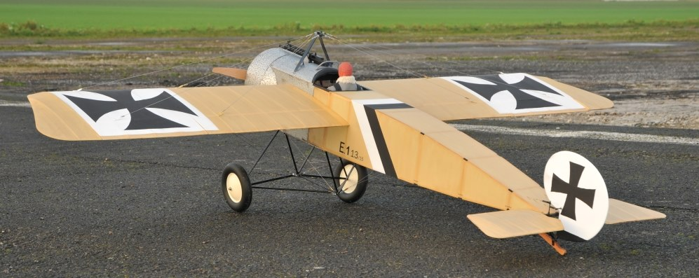 Short Kit FOKKER Eindekker E1 2350mm