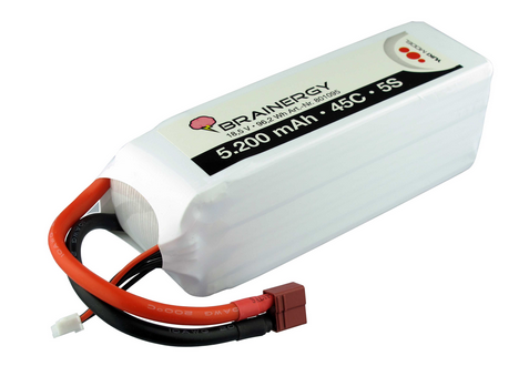Lipo 5s 18,5v 5200mAh 45C BRAINERGY