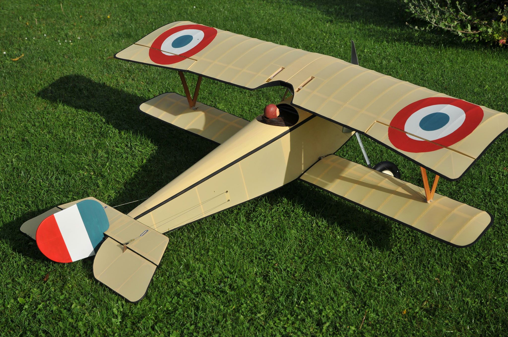 Short Kit Nieuport 11 1980mm